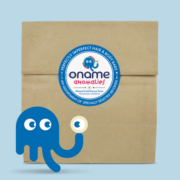Oname Anomalies character with brown bag