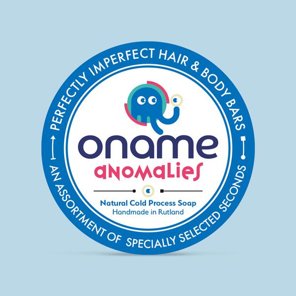 Oname Anomalies soap label